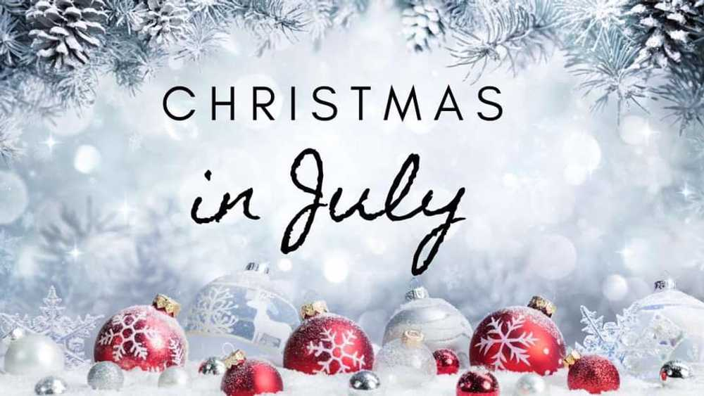 Christmas in July W/Paint N' Sip fence board