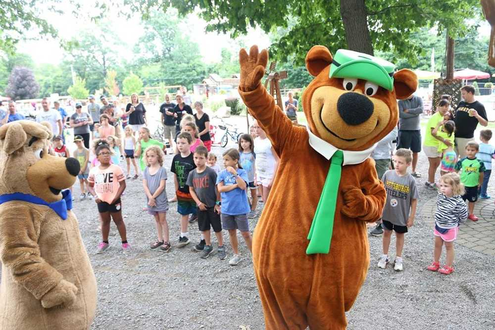 Yogi Bear's Birthday Celebration