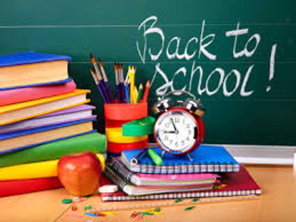 Back to school weekend