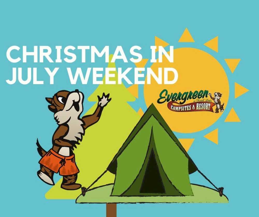 Christmas in July Weekend