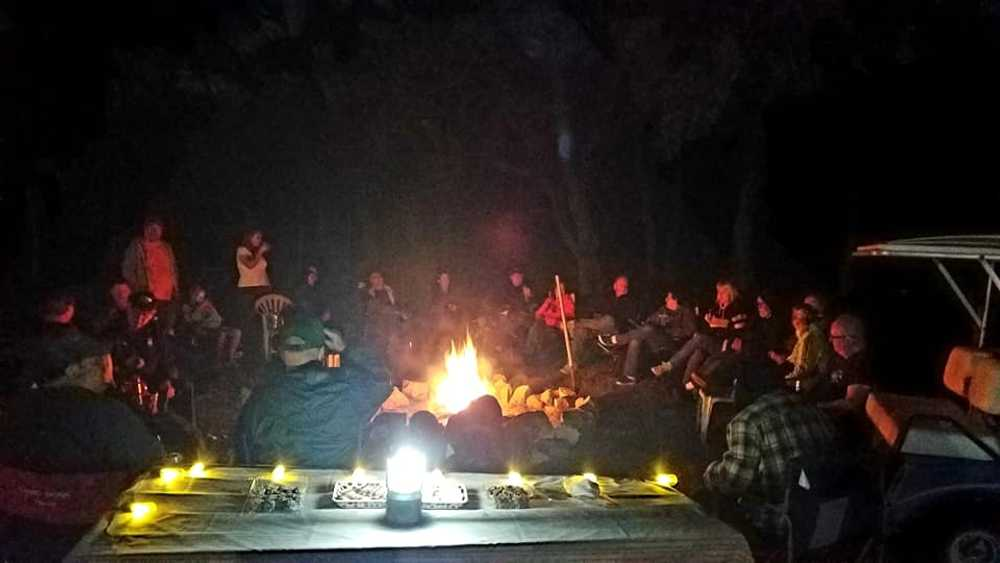 Saturday Night Roaming Campfire-Back with Social Distanced Seating YAY!