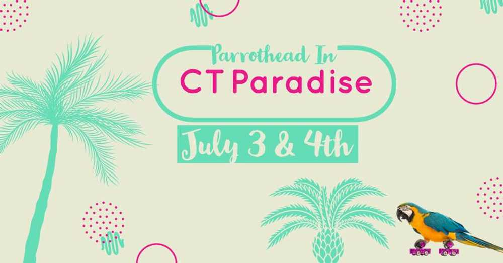 Parrothead in CT Paradise Weekend
