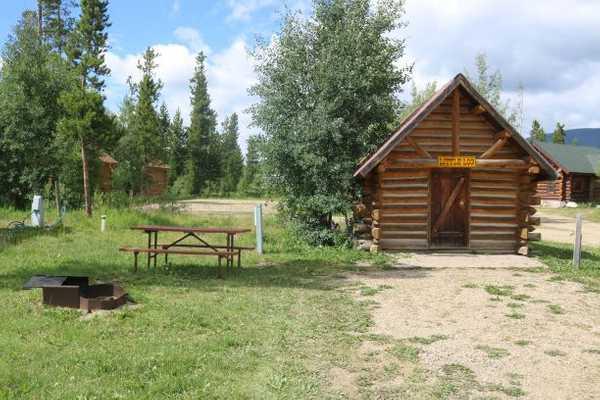 Little Log Camper Cabin