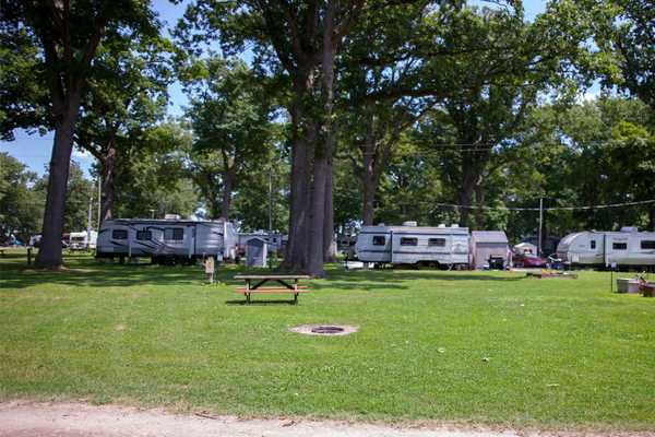 Water & Electric RV Site