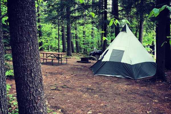 Dry Tent Site