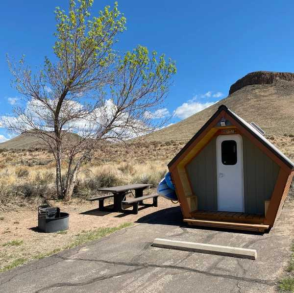 Blue Mesa Adventure Pods at Elk Creek Campground