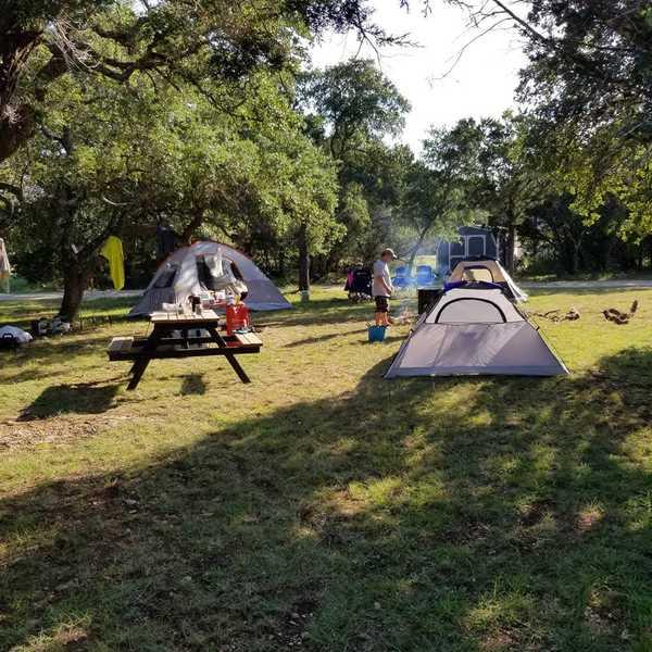 Hilltop Tent Site