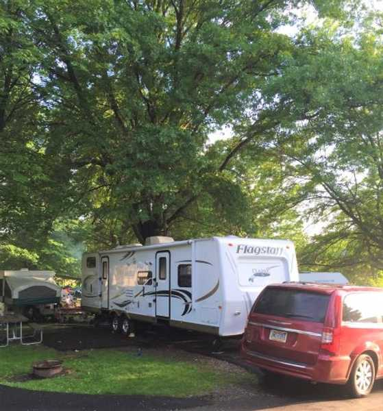 Paved Water and Electric Pop Up/ RV Site