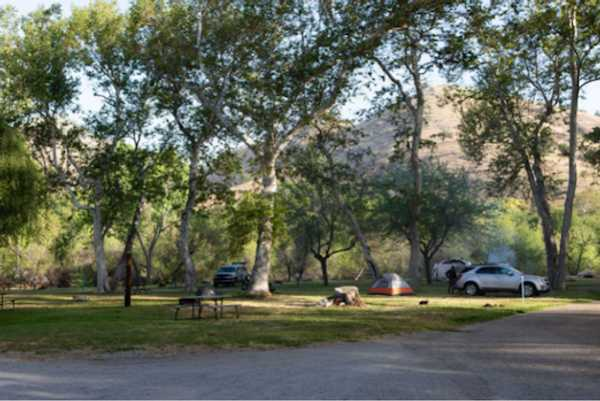 Off-River Tent Site
