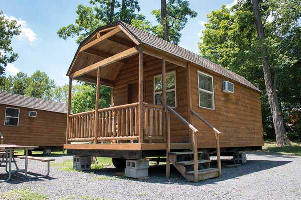 Rustic River Cabin