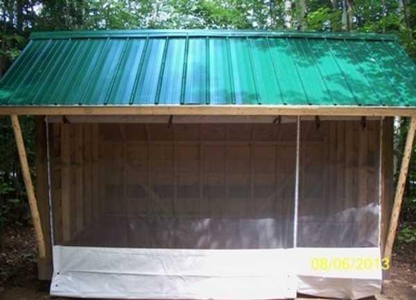 Adirondack Shelter Water + Electric