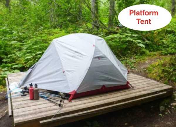 Platform Tenting