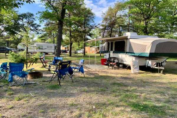 Water/Electric RV Site