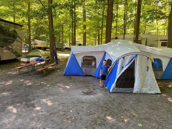 Rustic Non-Electric Tent Site (Res)