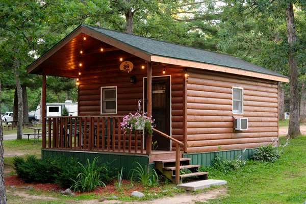 Glamping Cabin (Not Pet-Friendly)