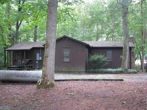 Camp WaBak Gatehouse