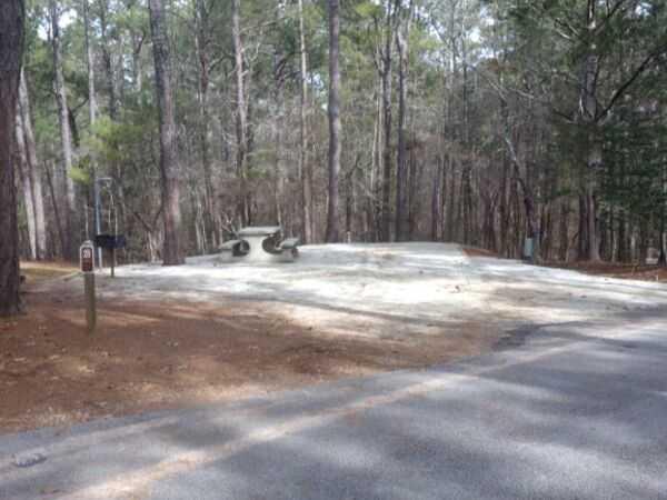 50 AMP Savannah River Interior Pull-Thru Campsite