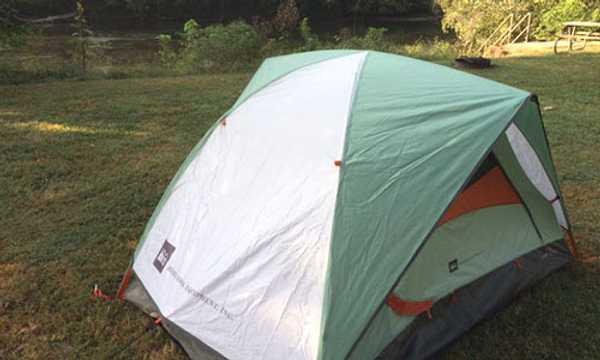 Primitive Hillside Tent Site