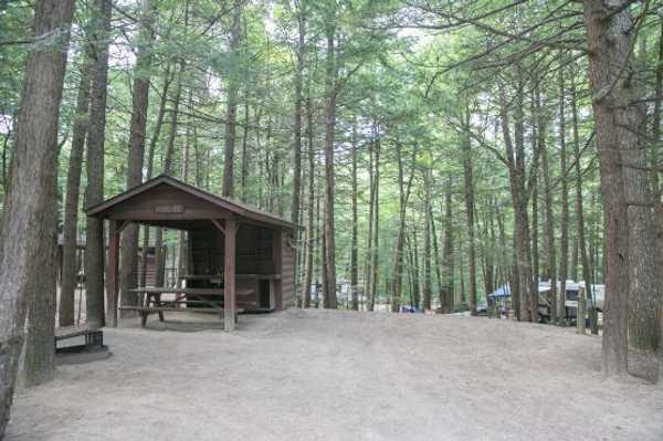 Private Kitchen and Bathroom Campsite