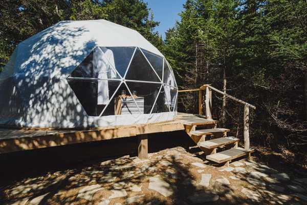Lower Dome w/ Lobster Pot Hot Tub