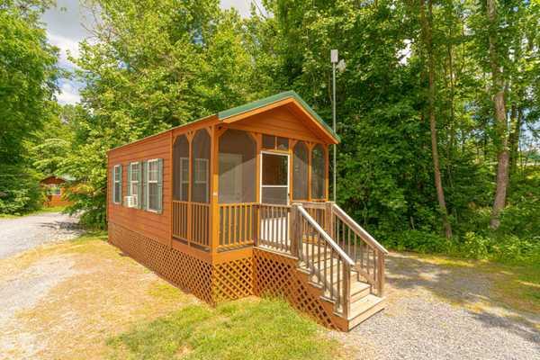 Cindy Bear Deluxe Cabin