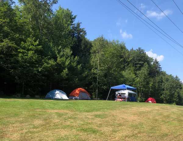 Open Grass Tent Site