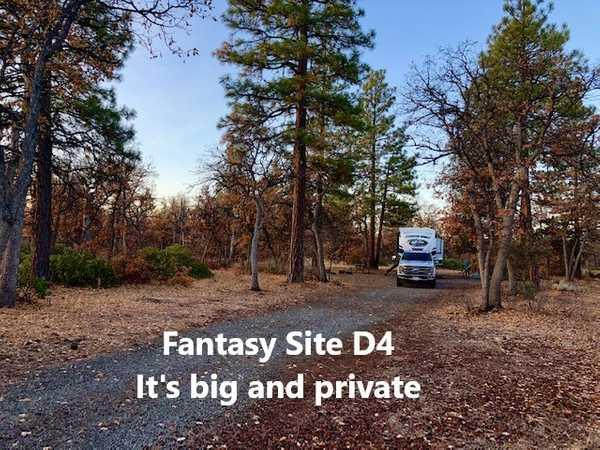 Fantasy Full Hookup RV Site