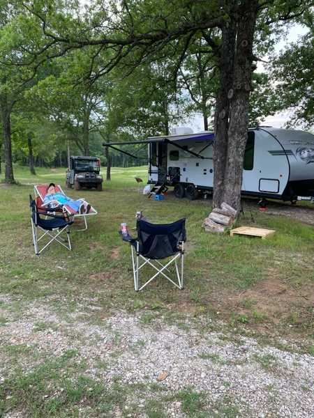 Standard Shaded RV Sites with Full Hookups for smaller units 40' and under.