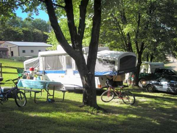Water and Electric RV/Pop Up/Tent Site