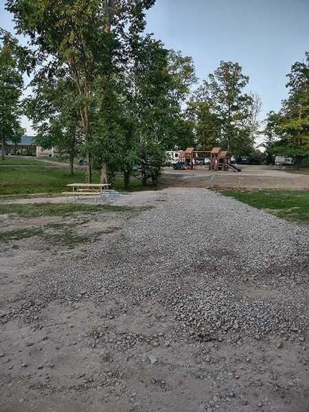 Interior 20/30/50 Amp/Water RV Site (Playground)