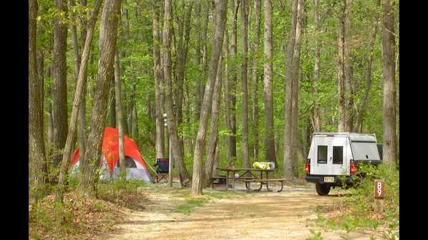 Standard Pull-Through Campsite