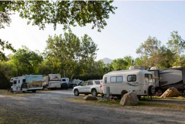 River Front Pull-In RV Site