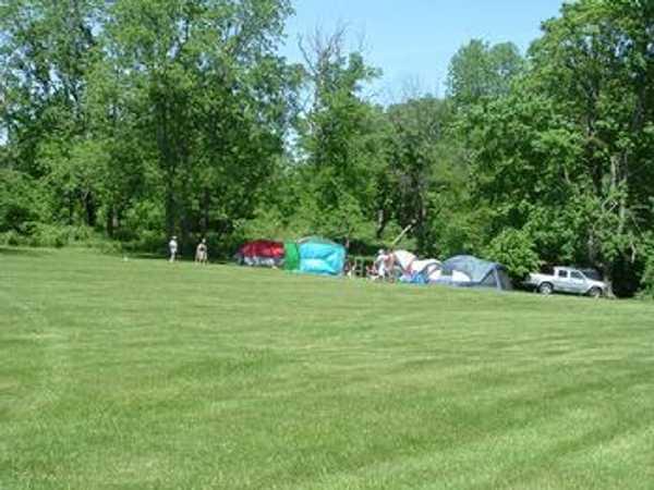 Group Primitive Tent Site