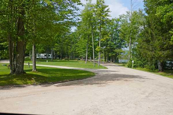 Modern, Lakefront Campsite