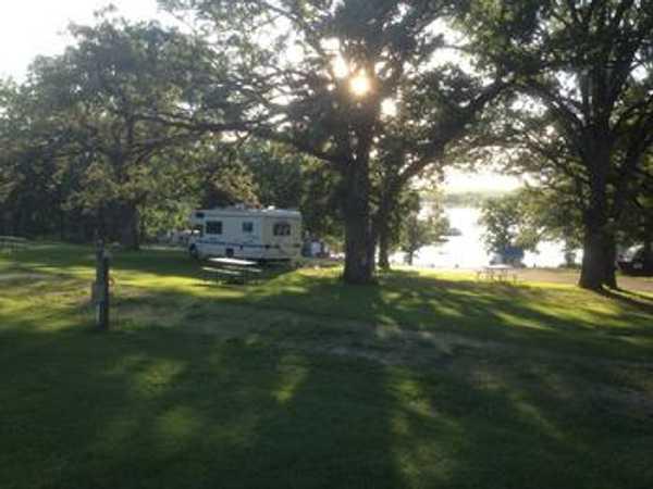 30 Amp Lake View RV Site
