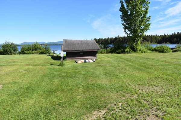 30AMP Waterfront Site with Lean-To