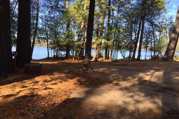 Lakefront Campsite