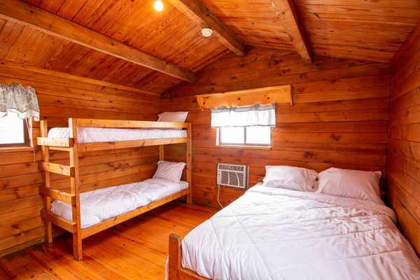 4 Person Rustic Cabin