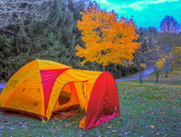 Water and Electric Tent/Pop Up Site