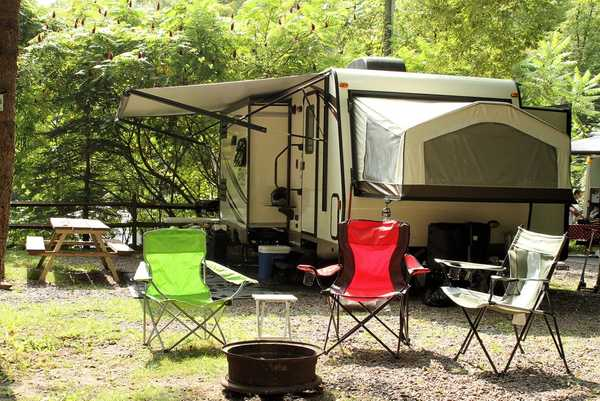 Water/Electric RV, Popup, Tent Site