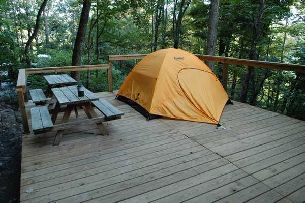 Mountain Top Tent Site