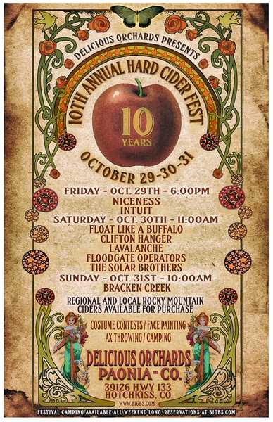Ciderfest Orchard Camping