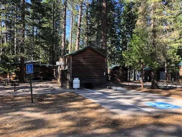 Small Cabin Accessible