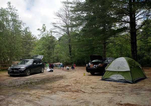 Pondside W/E Tent Site