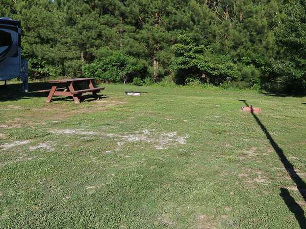 Perimeter Back-In FHU RV Site