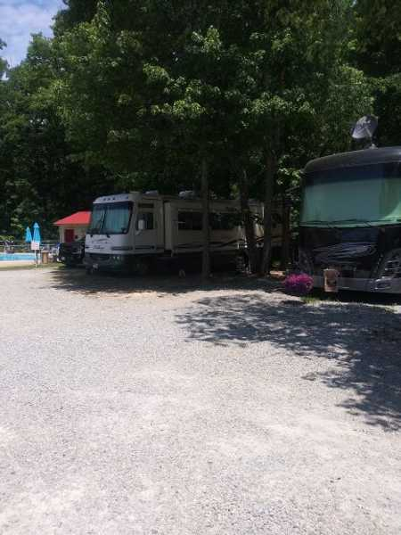 50/30 Amp Poolside Full Hook Up RV Site
