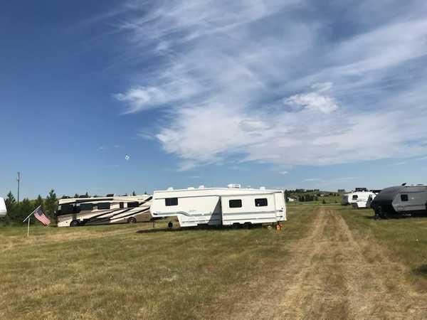 35 foot Double/Trip Slideout Campsite