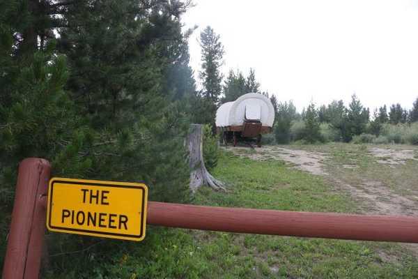 Pioneer Conestoga Wagon