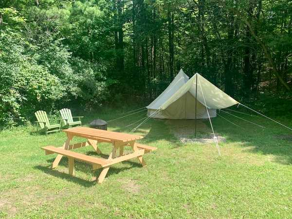 Unequipped Bell Tent