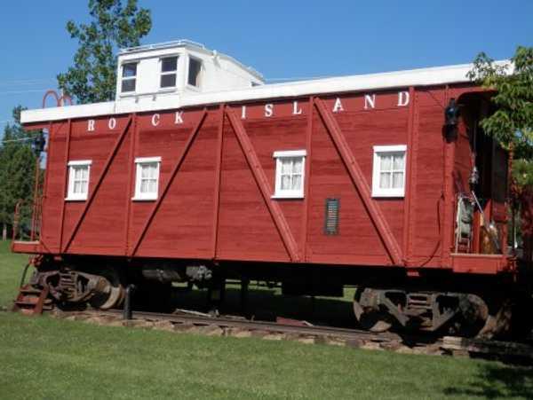 Rock Island Railroad Caboose
